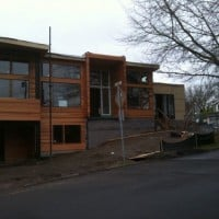 Houghten House Construction